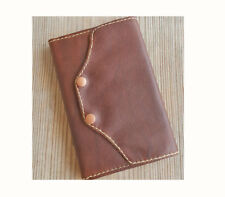 Leather Cover  Moleskine Cat Journal Notebook