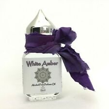 White Amber Body Oil Pure Perfume Original Uncut Imported exotic 15 ml. Lasting