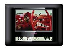 Polaroid 7 inch Digital Photo Frame Black Glass XSU-00770B Colour 16:9 USB SD