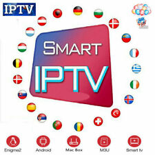 IP TV Subscription 12 Months M3U MAG STB TV Box VOD Movies Live World Channels