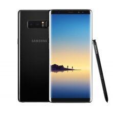 Boost Mobile Unlocked Samsung Galaxy Note 8 N950U Black SmartPhone Good