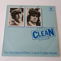 Peter Cook & Dudley Moore - The Clean Tapes - Vinyl LP UK 1st Press Very Best Of