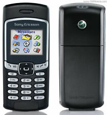 BLACK SONY ERICSSON T290a CELL PHONE FIDO GSM CAMERA CANDY BAR WIRELESS CELLULAR