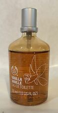 THE BODY SHOP VANILLA VANILLE EAU DE TOILETTE PERFUME 1.0 OZ