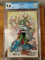 A-Force #1 9.8 CGC Graded. 1st appearance of Singularity. Free Shipping!