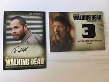 The Walking Dead S3P2 Authentic Autograph Jose Pablo Cantillo as CESAR