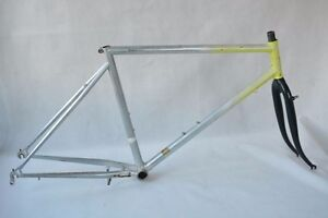 Vintage SCAPIN TEAM mtb FRAME and FORK ! COLUMBUS OFF ROAD ! VERY VERY RARE !