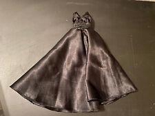 Blythe Doll Black Satin Ball Gown Aline Handmade
