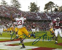 Chauncey Washington Signed USC Trojans Football 8x10 Photo Picture Autograph NFL
