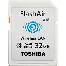 Toshiba Flashair W-03 32Gb  (UK IMPORT)  AC NEW