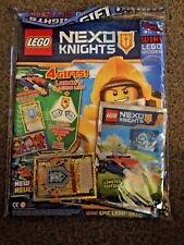 Lego NEXO KNIGHTS Magazine ISSUE 15 MAY 2017 GIFT PACK FREE BEAM JUMP CARD