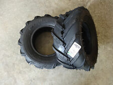 TWO New 16X6.50-8 BKT TR-315 Tractor Lug Tires 6 ply with free stems
