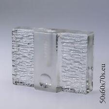 Glas Zweigvase Walther Glas Entwurf Heiner Düsterhaus H=10 cm 60s Design #132