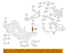 TOYOTA OEM Rear Suspension-Susp Crossmember Stud 9011614014
