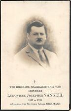 "Sterbebild Heiligenbild Gebetbild Andachtsbild"" Holy card "" H1919"" Vangeel"