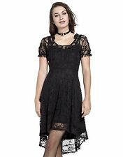 TRIPP GOTHIC PUNK ROCKER DOLL LOLITA LOVELY LACE BLACK DRESS DR4839