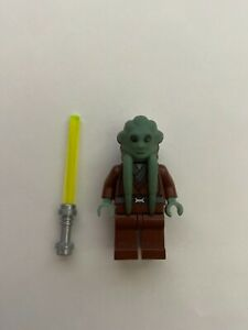 Lego Star Wars Kit Fisto 7661 & 8088 Minifigure (Good Condition)