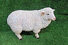 SHEEP FARM ANIMAL GARDEN STATUE ORNAMENT FIGURINE SCULPTURE