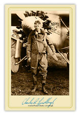 1927 CHARLES LINDBERGH SPIRIT OF ST. LOUIS AIRPLANE PHOTO AVIATION