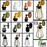 Vintage Wall Sconce E27 Industrial Edison Loft Retro Lamp Light Holder Switch UK