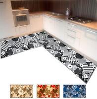 Tappeto cucina cuori angolare o passatoia su misura metro bordata mod.FAKIRO35