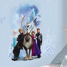 DISNEY FROZEN WINTER BURST wall stickers decal Anna Elsa Olaf Sven Hans Kristof