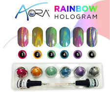 AORA HALO HOLOGRAM KIT - HOLOGRAM -  MIRROR NAILS KIT