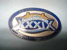 New England Patriots Super Bowl XXXIX Pin