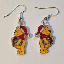 Winnie the Pooh Earrings Christmas Present Honey Charms