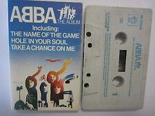 ABBA THE ALBUM UK RELEASE CASSETTE TAPE PY