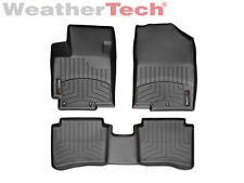 WeatherTech Floor Mats FloorLiner for Hyundai Accent - 2012-2017 - Black