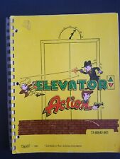 Original Elevator Action Arcade Game Instruction Manual - SCHEMATICS