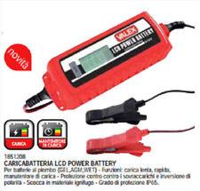Caricabatterie Mantenitore LCD DIGITALE carica batteria auto moto 6/12v 120A