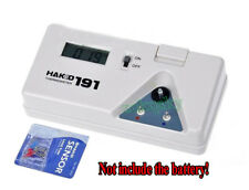 DC 9V HAKKO 191 Tip Thermometer Solder Iron Tip Digital Tester + 10pcs Sensors