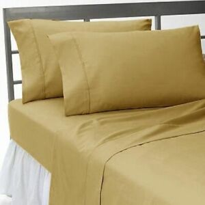 "7 PC Bedding(Sheet Set + Duvet Set)18"" Deep Pkt 1000 TC Egyptian Cotton US Twin"