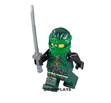 Lego Ninjago Lloyd Green minifigure w/ sword weapon new 70623 Hands of Time