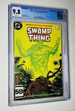 Saga Of The Swamp Thing #37 CGC 9.8 WP 1st Full App Of John Constantine 🔥🔑🔑🔥