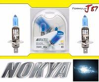 Nokya 7000K White H1 Nok7217 80W Two Bulbs Head Light Low Beam Replacement OE