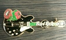 Hard Rock Cafe Floral Cape Town Electric Guitar pin