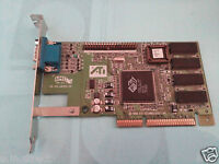 Compaq 332865-001 Rage IIC 4MB AGP Graphics Card ATI 1024830302500120