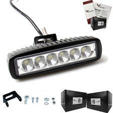 """Eagle Lights Elite Series 6"""" LED Light Bar - 2500Lm Output, Flood Pattern"""