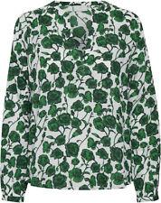 KAFFE - 10503515 Bluse / CHALK  - GREEN /    38 - M (L)