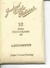 Complete Set 10 x  Photo snapshots of LOCHINVER by Judges....