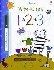 Wipe- Clean 123 Book (Usborne Wipe-Clean Books)