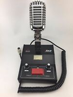 DELTA M2 AMPLIFIED DYNAMIC POWER BASE MICROPHONE 4 pin Cobra CB HAM LOUD MIC