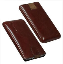 For Samsung Google i9023 Nexus S Phone Genuine Leather Pouch/Case / Case/Case