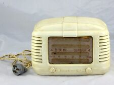 Vintage Australian Astor Mickey Bakelite Radio Valve Radio LAYBY AVAILABLE