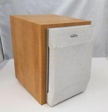 "Philips FWB-MC50/17 Speaker 6 Ohm Maple Wood Bookshelf 10""x7""x9"" One Speaker"