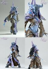 "WOW WORLD OF WARCRAFT-  FIGURA DRAENEI TAMUURA 18 CM/ ACTION FIGURE 7"" IN BOX"
