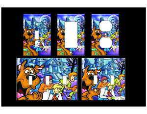 SCOOBY DOO #2 Light Switch Covers Home Decor Outlet MULTIPLE OPTIONS